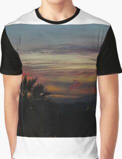 LA Sunset Graphic T-Shirt