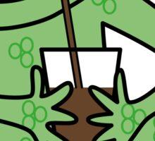 Alberto Frog Sticker