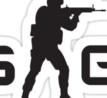 CounterStrike GO Logo CSGO Sticker