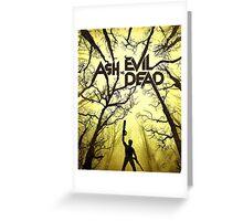ASH vs EVIL DEAD Greeting Card