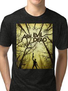 ASH vs EVIL DEAD Tri-blend T-Shirt