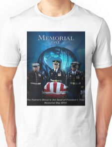 Memorial Day - Patroit's Blood Unisex T-Shirt