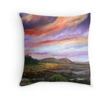 Strangford Impression (view from Island Hill) Throw Pillow