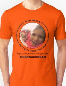 Team Sienna ~ Bay 2 City Marathon 2016 T-Shirt