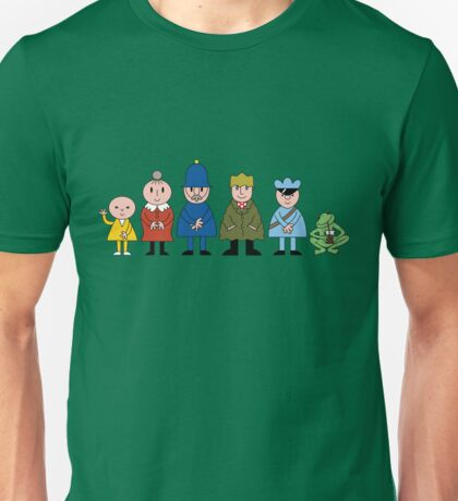 Bod and friends Unisex T-Shirt