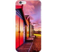Brighton Beach Sunset iPhone Case/Skin