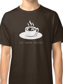FK in the coffee. It never fails. [Deadly Premonition, dark shirt] Classic T-Shirt