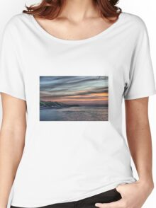 Sunset on Cromer Cliffs Women's Relaxed Fit T-Shirt