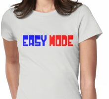 Easy Mode Womens Fitted T-Shirt