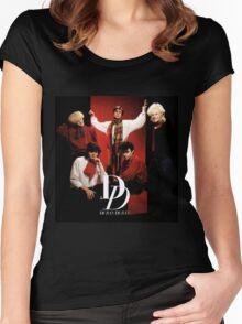 Vintage Duran Duran - dono Women's Fitted Scoop T-Shirt
