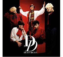 Vintage Duran Duran - dono Photographic Print