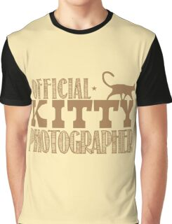 Official KITTY photographer Graphic T-Shirt