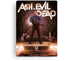 Ash vs Evil dead tv series Canvas Print