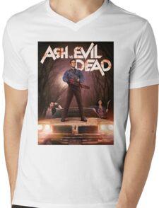 Ash vs Evil dead tv series Mens V-Neck T-Shirt