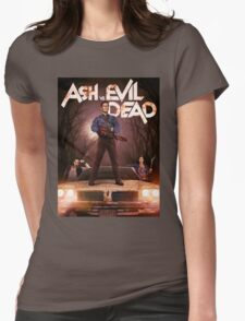 Ash vs Evil dead tv series Womens Fitted T-Shirt