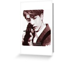 BTS Jin 02 Greeting Card