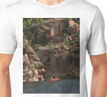 Geometric Lake Unisex T-Shirt