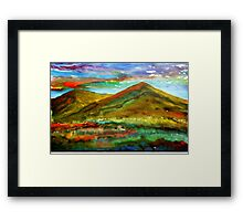 Mourne Abstract 1 Framed Print