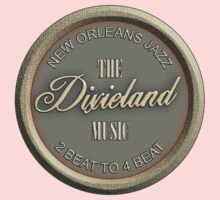 New Orleans Jazz Dixieland Music Kids Clothes