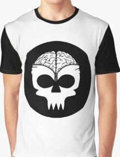 Zip Up Graphic T-Shirt