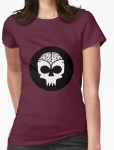 Zip Up Womens Fitted T-Shirt