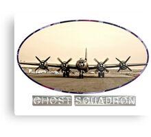 Ghost Squadron B-29 Bomber Metal Print