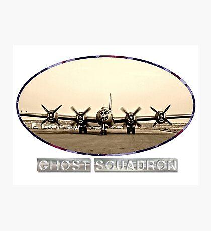 Ghost Squadron B-29 Bomber Photographic Print
