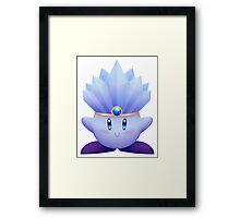 Ice Kirby Framed Print