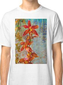 Orchid Vintage Montage Classic T-Shirt