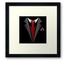 Fancy Emergency Tuxedo  Framed Print