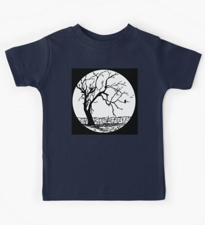 After the Storm Original Pen and Ink Drawing Kids Tee