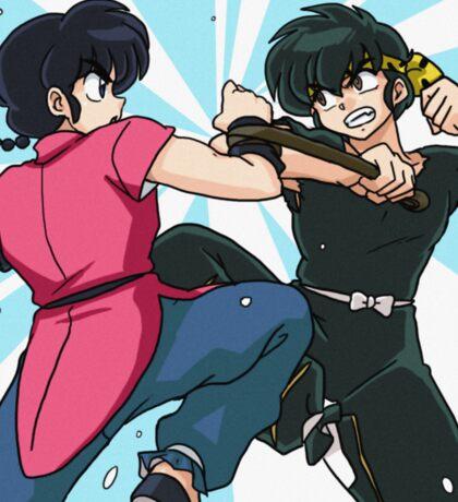 Ranma vs Ryoga Sticker
