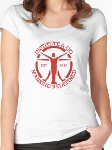 The Institute and CO. Women's Fitted Scoop T-Shirt