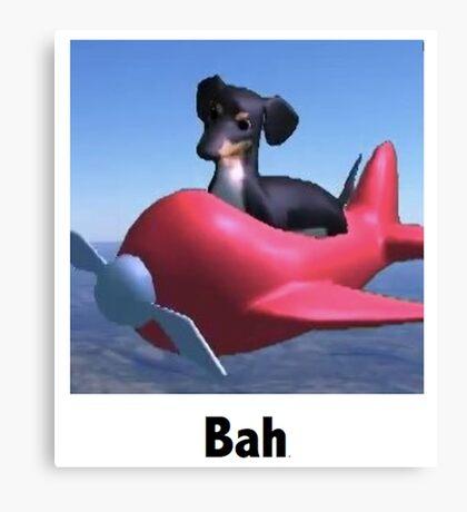 "Dog of Wisdom - ""Bah"" Canvas Print"