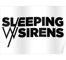 Sleeping With Sirens Logo - dono Poster