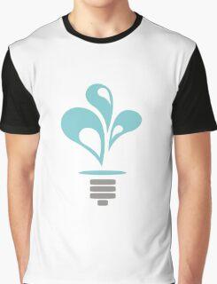 Hydropower Lightbulb Graphic T-Shirt