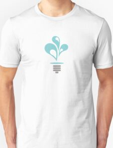 Hydropower Lightbulb Unisex T-Shirt