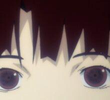 Anime girl lain Sticker