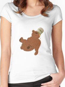 Hover Bear Women's Fitted Scoop T-Shirt