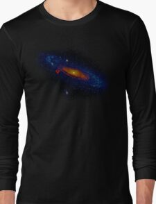 Meanwhile, somewhere in the Universe... Long Sleeve T-Shirt
