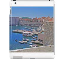 Port, Old Town, Dubrovnik, Croatia iPad Case/Skin
