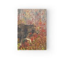 Maine Bull Moose  Hardcover Journal
