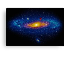 Meanwhile, somewhere in the Universe... Canvas Print