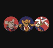 Biker Mice from Mars by frankzandbeanz