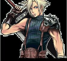 """Cloud Strife """"Limits are meant to be broken"""" by fireflame786"""