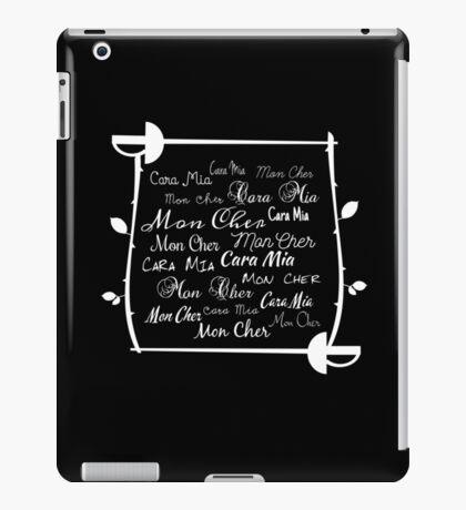Cara Mia Mon Cher iPad Case/Skin