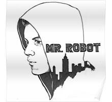 Mr. Robot T-Shirt Poster