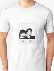 Dan and Phil Polaroid T-Shirt