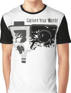 GoPro - Capture Your World - Merchandise 2016 Graphic T-Shirt