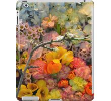 Colorful spring blossoms iPad Case/Skin